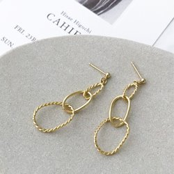 OBJET KNOT EARRING #2REVISITED
