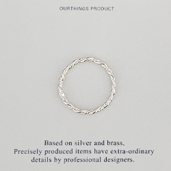 LINEAR ROPE RING