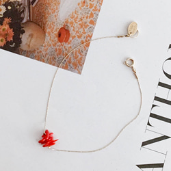 COLLECTIVE CORAL ANKLET