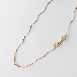 LIGHT TEXTURE CHAIN NECKLACE